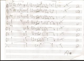 String quartet first mvt sketch